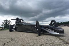 CHAD ROSSELL M&M DRAGSTER