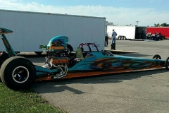 DAN DAVIES DIAMOND DRAGSTER