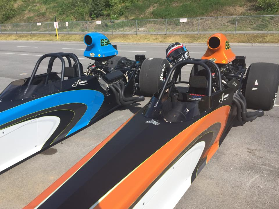 Diamond Race Cars Dragster