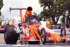 KATHY FISHER AMERICAN DRAGSTER