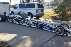 JEFF/JUSTIN HARDY DIAMOND DRAGSTER