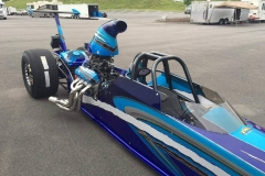 Tony Hill American dragster 8