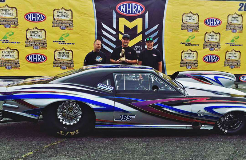 Best Appearing Award NHRA Northwest Nationals
