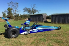 Tony Hill American dragster 1
