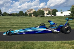 Tony Hill American dragster 2