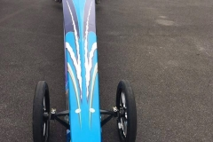 Tony Hill American dragster 9